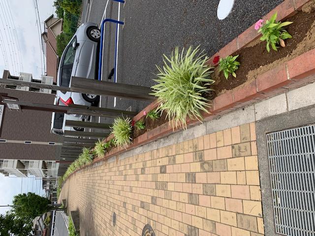 ストリート花壇